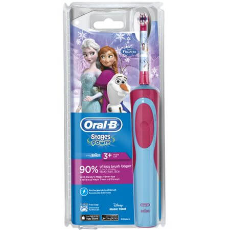 Periuta de dinti electrica Oral-B Frozen pentru copii