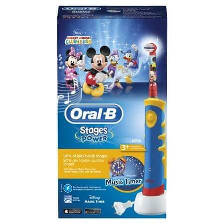 Periuta de dinti electrica Oral-B Mickey Mouse pentru copii