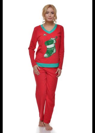 pijama de craciun cizma verde