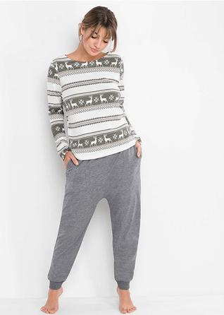 pijama de craciun cu reni