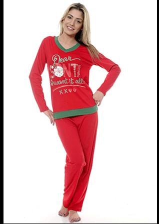 pijama de craciun rosie