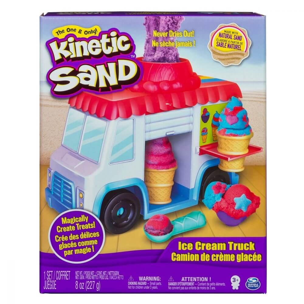 Nisip Kinetic - Masina de inghetata