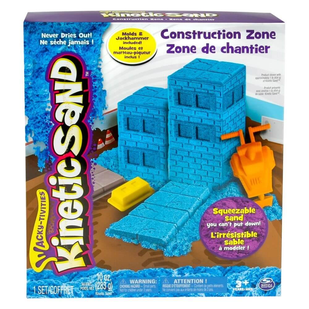 Set Nisip Kinetic Set constructii Inghetata
